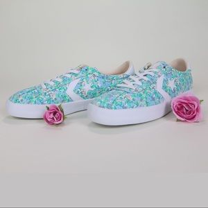 Converse Breakpoint Floral Low Top Sneaker